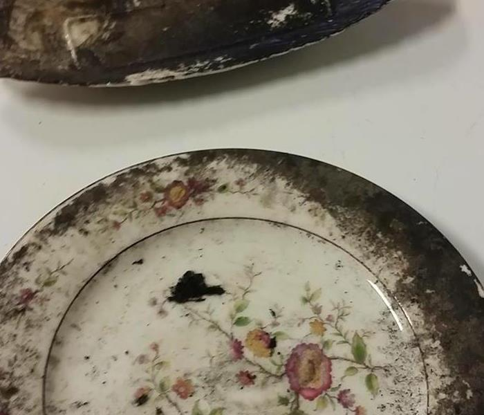 Dishes cleaned after Fire