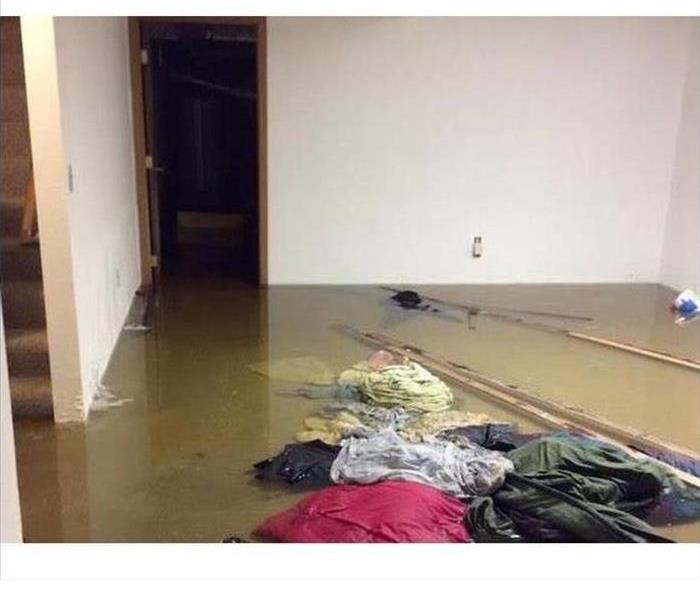 Roof Damage Results In Flooding